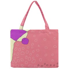 Pink abstraction Mini Tote Bag