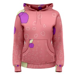 Pink abstraction Women s Pullover Hoodie