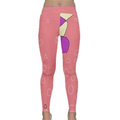 Pink abstraction Yoga Leggings