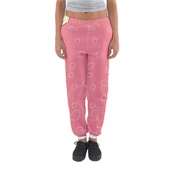 Pink abstraction Women s Jogger Sweatpants