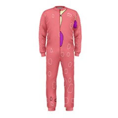 Pink abstraction OnePiece Jumpsuit (Kids)