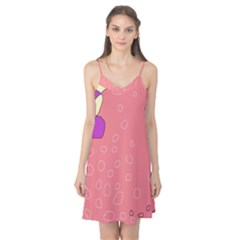 Pink abstraction Camis Nightgown