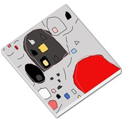 Playful abstraction Small Memo Pads
