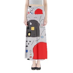 Playful abstraction Maxi Skirts