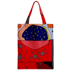 Playful abstraction Zipper Classic Tote Bag
