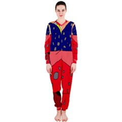 Playful abstraction OnePiece Jumpsuit (Ladies)