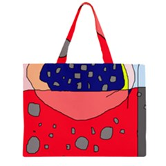 Playful abstraction Large Tote Bag