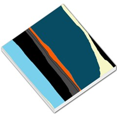 Colorful lines  Small Memo Pads