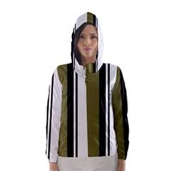 Elegant lines Hooded Wind Breaker (Women)