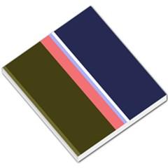 Decorative lines Small Memo Pads