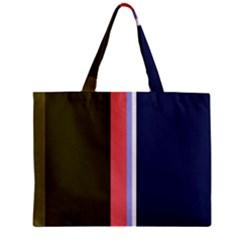 Decorative lines Zipper Mini Tote Bag