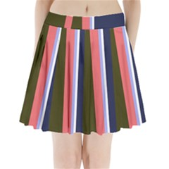 Decorative Lines Pleated Mini Mesh Skirt(p209)