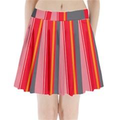 Optimistic Lines Pleated Mini Mesh Skirt(p209)
