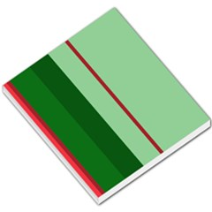 Green and red design Small Memo Pads