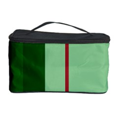 Green and red design Cosmetic Storage Case