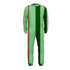 Green and red design OnePiece Jumpsuit (Kids)