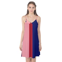 Pink and blue lines Camis Nightgown