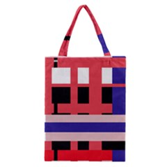 Red abstraction Classic Tote Bag
