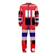 Red abstraction OnePiece Jumpsuit (Kids)