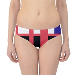 Red abstraction Hipster Bikini Bottoms