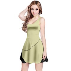 Elegant design Reversible Sleeveless Dress