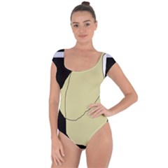 Elegant design Short Sleeve Leotard