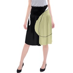 Elegant Design Midi Beach Skirt