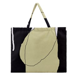 Elegant design Zipper Large Tote Bag