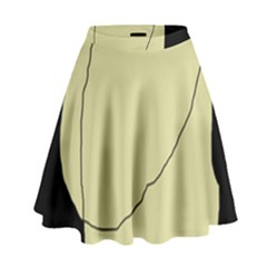 Elegant design High Waist Skirt