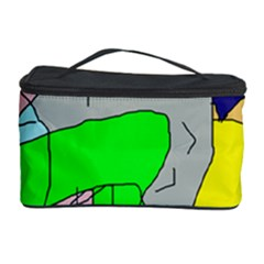 Crazy abstraction Cosmetic Storage Case