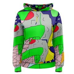Crazy abstraction Women s Pullover Hoodie