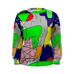 Crazy abstraction Women s Sweatshirt