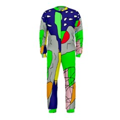 Crazy abstraction OnePiece Jumpsuit (Kids)