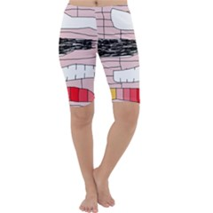 Worms Cropped Leggings