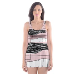 Worms Skater Dress Swimsuit