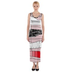 Worms Fitted Maxi Dress