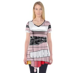 Worms Short Sleeve Tunic