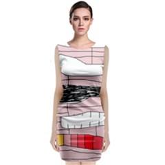 Worms Classic Sleeveless Midi Dress
