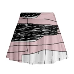 Worms Mini Flare Skirt