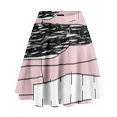 Worms High Waist Skirt