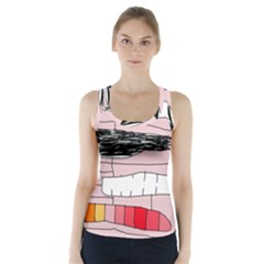 Worms Racer Back Sports Top