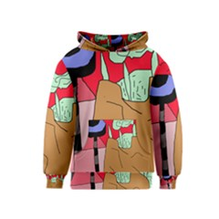 Imaginative abstraction Kids  Pullover Hoodie