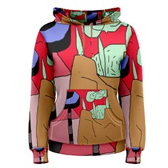 Imaginative abstraction Women s Pullover Hoodie