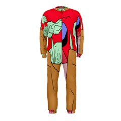 Imaginative abstraction OnePiece Jumpsuit (Kids)