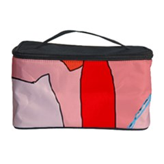 Red landscape Cosmetic Storage Case