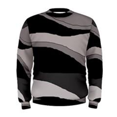 Black and gray design Men s Sweatshirt