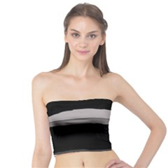 Black and gray design Tube Top