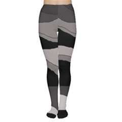 Black and gray design Women s Tights