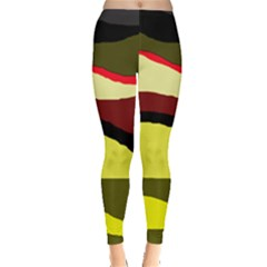 Decorative abstract design Leggings
