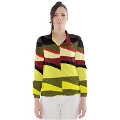 Decorative abstract design Wind Breaker (Women)